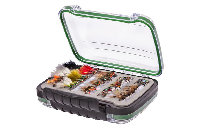 Snowbee Krabička Easy-Vue Waterproof Fly Box - M