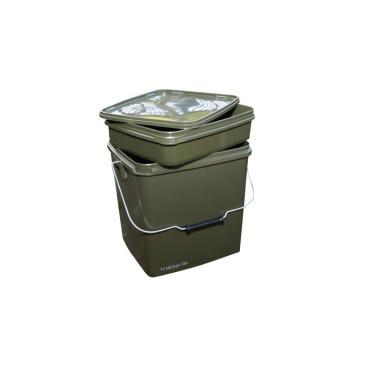 Trakker Products Trakker Plastový box na návnady a nástrahy - 13 Ltr Olive Square Container inl. Tray