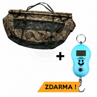 Fox - Vážicí taška Camo STR Floatation Weigh Sling + VÁHA RCM ZDARMA!