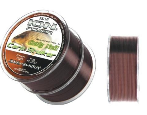 AWA-SHIMA - Silon ION Power Craig Neil Carp Stalker - 0,33mm - 2x300m