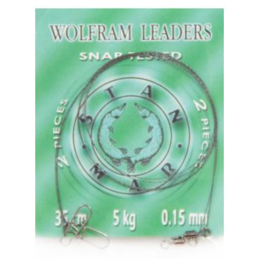Stan-Mar - WOLFRAM leaders 35cm/10kg