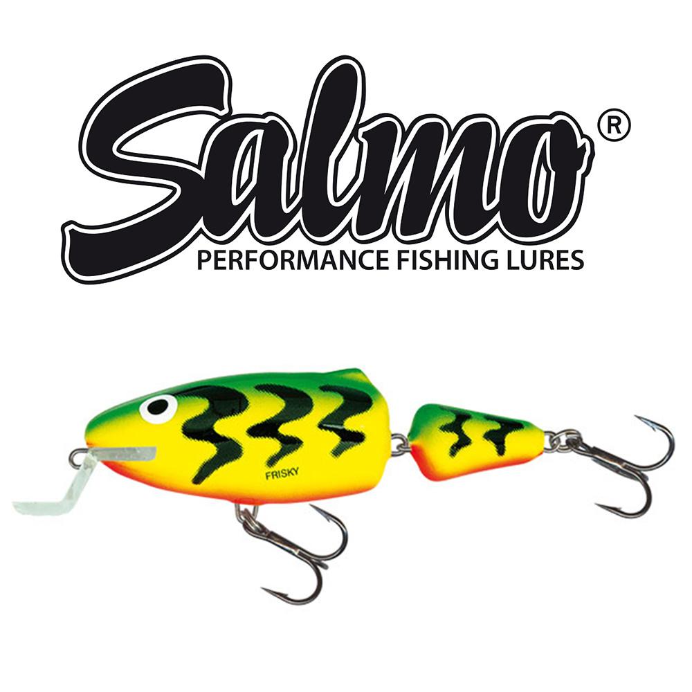 Salmo - Wobler Frisky deep runner 5cm - Green tiger