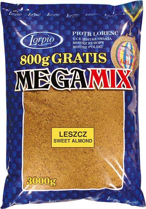 Lorpio -  Krmítková směs MEGAMIX  Kapr scopex/vanilka  3kg