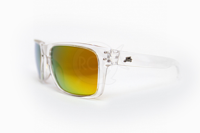 Fortis polarizační brýle Bays Clear Gold X Bloc