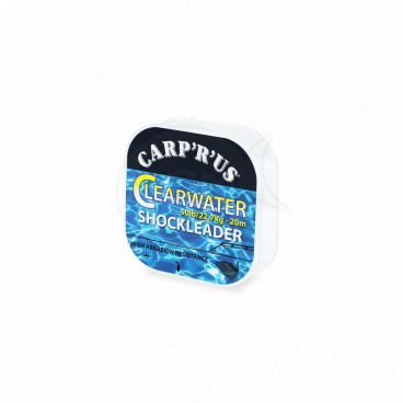 Carp´R´Us Clearwater Shock Leader - 50lb, 20m