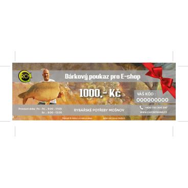 Dárkový poukaz E-shop 1000Kč